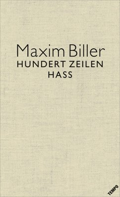 100 Zeilen Hass (eBook, ePUB) - Biller, Maxim