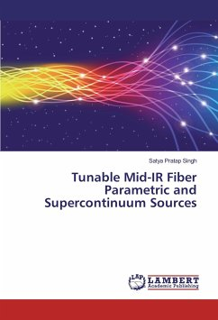 9783330009783 - Singh, Satya Pratap: Tunable Mid-IR Fiber Parametric and Supercontinuum Sources - Buch