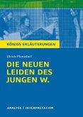 Die neuen Leiden des jungen W. Königs Erläuterungen. (eBook, ePUB)