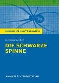 Die schwarze Spinne. Königs Erläuterungen. (eBook, ePUB)