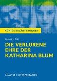 Die verlorene Ehre der Katharina Blum. Königs Erläuterungen. (eBook, ePUB)