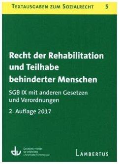 Recht der Rehabilitation und Teilhabe behindert...