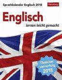 Sprachkalender Englisch 2018