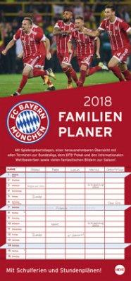 FC Bayern München Familienplaner 2018