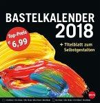 Bastelkalender 2018 groß schwarz