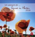 Ich wünsch dir... Sonne im Herzen - Postkartenkalender 2018
