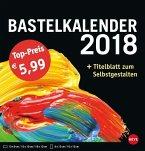 Bastelkalender 2018 mittel schwarz