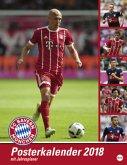 FC Bayern München Posterkalender 2018