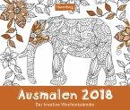Ausmalen - Kalender 2018