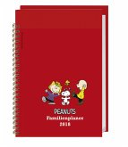 Peanuts Familienplaner Buch A5 - Kalender 2018