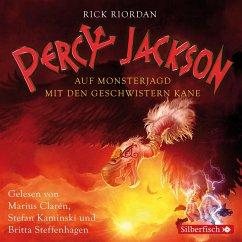 Percy Jackson - Auf Monsterjagd mit den Geschwistern Kane (MP3-Download) - Riordan, Rick