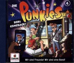 Die Punkies - Bens Comeback, 1 Audio-CD