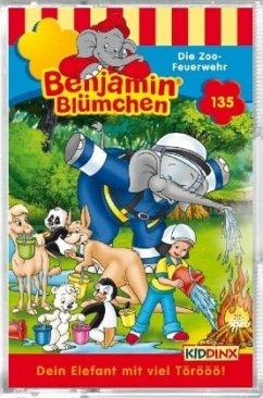 Benjamin Blümchen - Die Zoo-Feuerwehr, Cassette