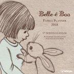 Belle & Boo 30 x 30 Family Planner 2018