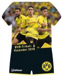 Borussia Dortmund 34 x 42 Sports Calendar 2018