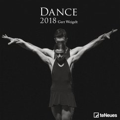 Dance 30 x 30 Grid Calendar 2018