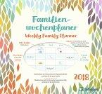Familienwochenplaner Leaves 2018