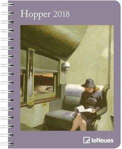 Hopper 2018 Buchkalender Deluxe