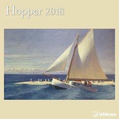 Hopper 30 x 30 Grid Calendar 2018