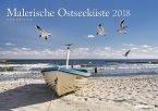 Malerische Ostseeküste 2018 Wandkalender