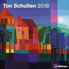 Ton Schulten 30 x 30 Grid Calendar 2018