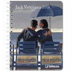 Jack Vettriano 16.5 x 21.6 Deluxe Diary 2018