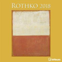 Rothko 2018 Broschürenkalender