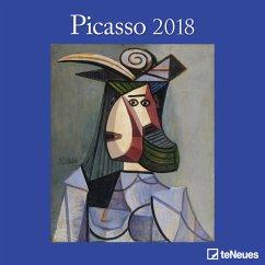 Picasso 30 x 30 Grid Calendar 2018