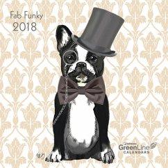 Fab Funky 2018 GreenLine Mini-Broschürenkalender
