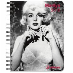Marilyn 16.5 x 21.6 Deluxe Diary 2018