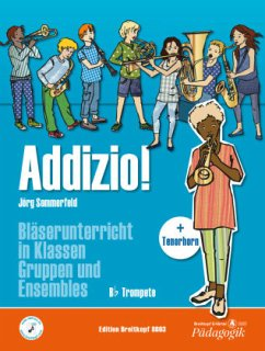 Addizio! Schülerheft, B-Trompete - Sommerfeld, Jörg