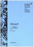 Konzert für Oboe und Orchester C-dur KV 314/285d, Studienpartitur