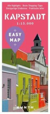 EASY MAP Kapstadt, mit Gardenroute, 1:15.000 / ...