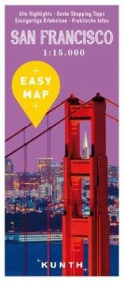 EASY MAP San Francisco mit Highway 1, 1:15.000
