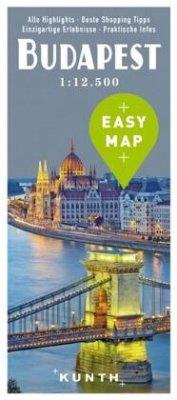 EASY MAP Budapest 1:12.500