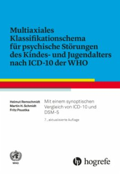 Multiaxiales Klassifikationsschema für psychische Störungen des Kindes- und Jugendalters nach ICD-10 - Multiaxiales Klassifikationsschema für psychische Störungen des Kindes- und Jugendalters nach ICD-10 der WHO
