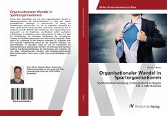 Organisationaler Wandel in Sportorganisationen