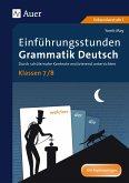 Einführungsstunden Grammatik Deutsch Klassen 7-8