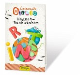 Leseratte Otilie Magnet Buchstaben