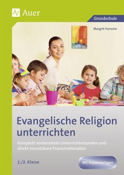 Evangelische Religion unterrichten - Klasse 1+2