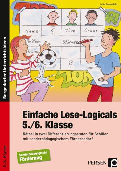 Einfache Lese-Logicals - 5./6. Klasse - Rosendahl, Julia
