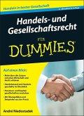 Handels- und Gesellschaftsrecht für Dummies (eBook, ePUB)