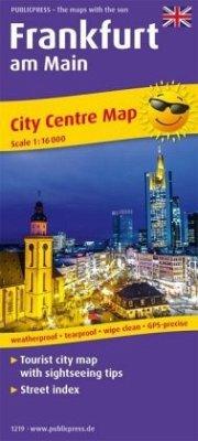 PublicPress City Centre Map Frankfurt am Main
