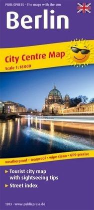 PublicPress City Centre Map Berlin