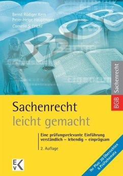 Sachenrecht - leicht gemacht - Leicht, Cornelia S.