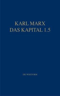 Marx Das Kapital 1.1.-1.5. / Das Kapital 1.5 - Marx, Karl Marx, Karl