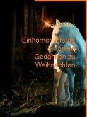 Einhörner, Pferde & andere Gedanken zu Weihnachten (eBook, ePUB)