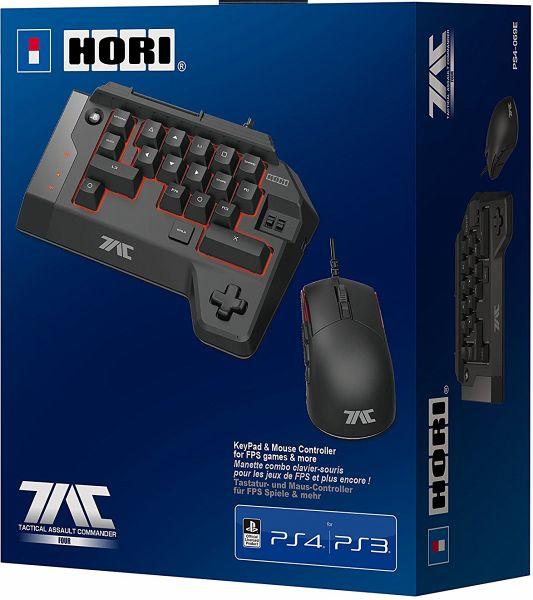 T.A.C FOUR (Mech. Tastatur & Maus für PS4/PS3/PC)