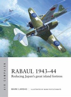 Rabaul 1943-44: Reducing Japan's Great Island Fortress - Lardas, Mark