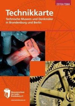 Technikkarte Brandenburg und Berlin